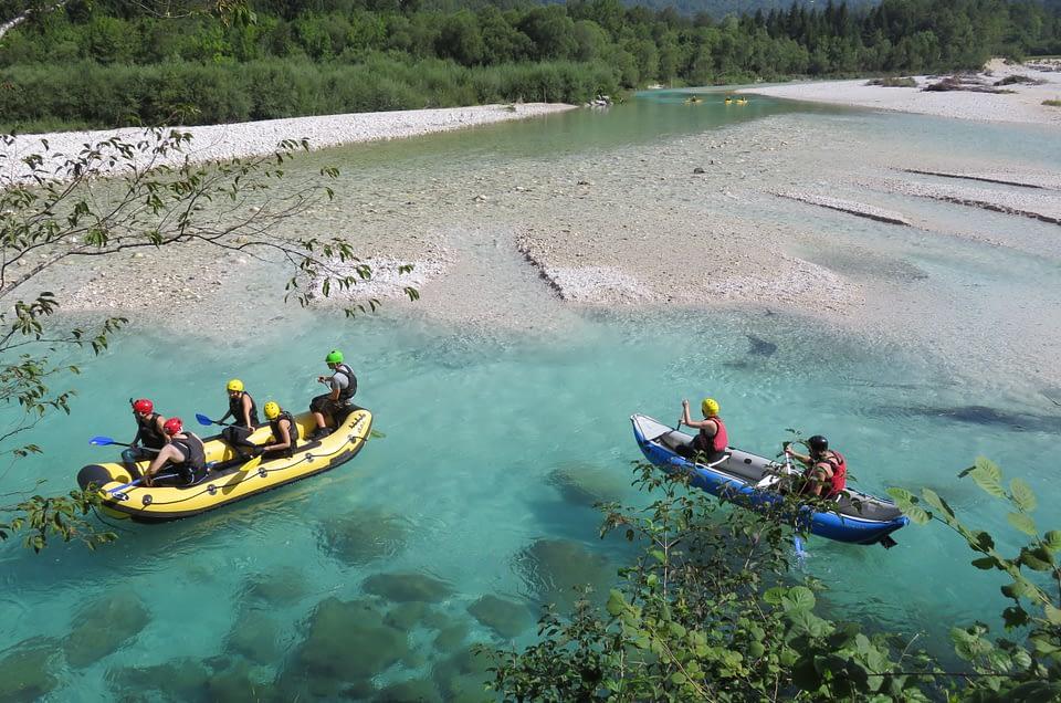 Rafting Soča